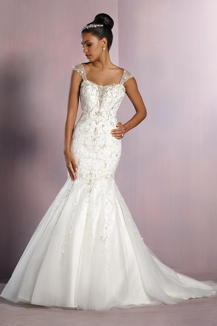 mermaid tale wedding dresses photo - 1