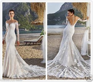 mermaid wedding dresses for sale photo - 1