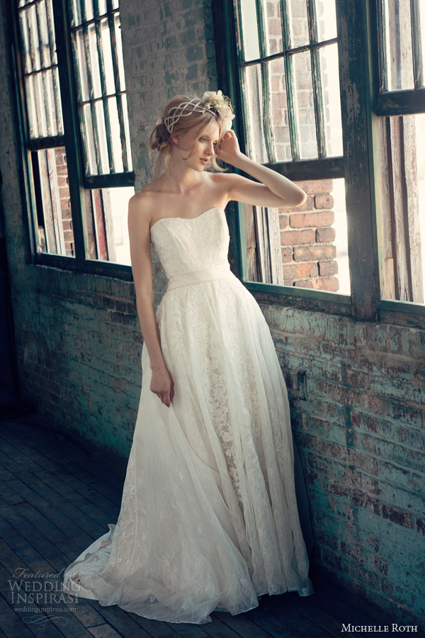 michelle roth wedding dresses photo - 1