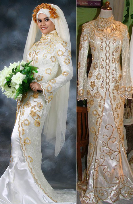 modern muslim wedding dresses photo - 1