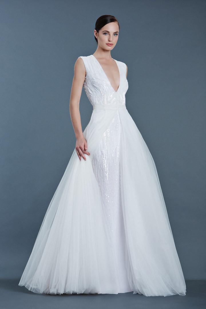 modern wedding dresses photo - 1