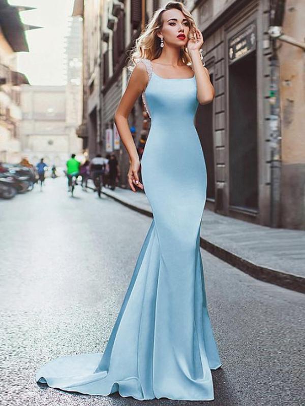 modest mermaid wedding dresses photo - 1