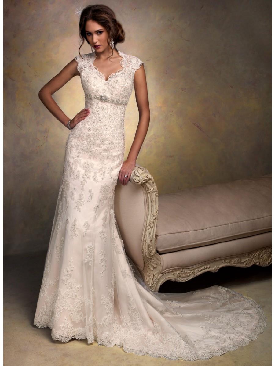modest vintage wedding dresses photo - 1