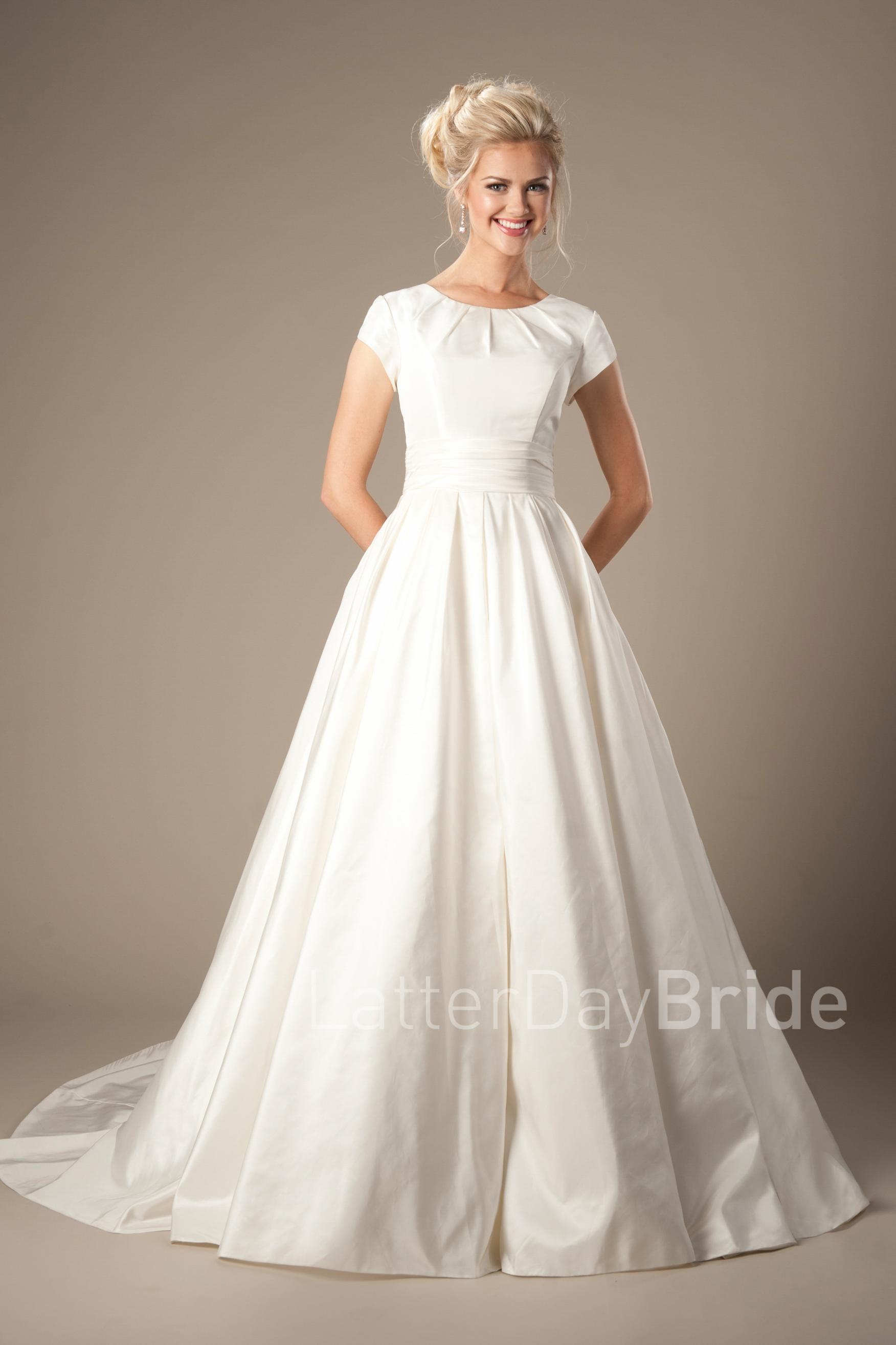 modest wedding dresses photo - 1