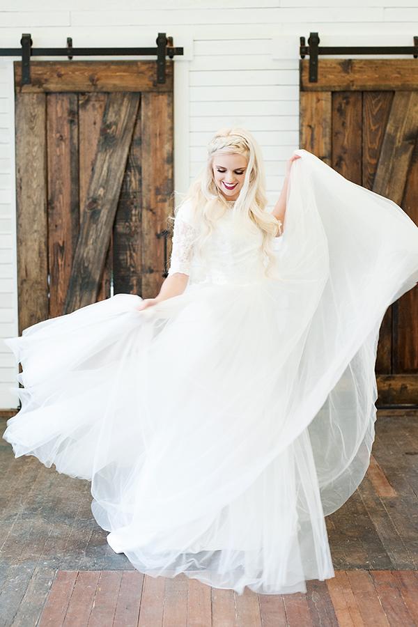 modest wedding dresses utah photo - 1