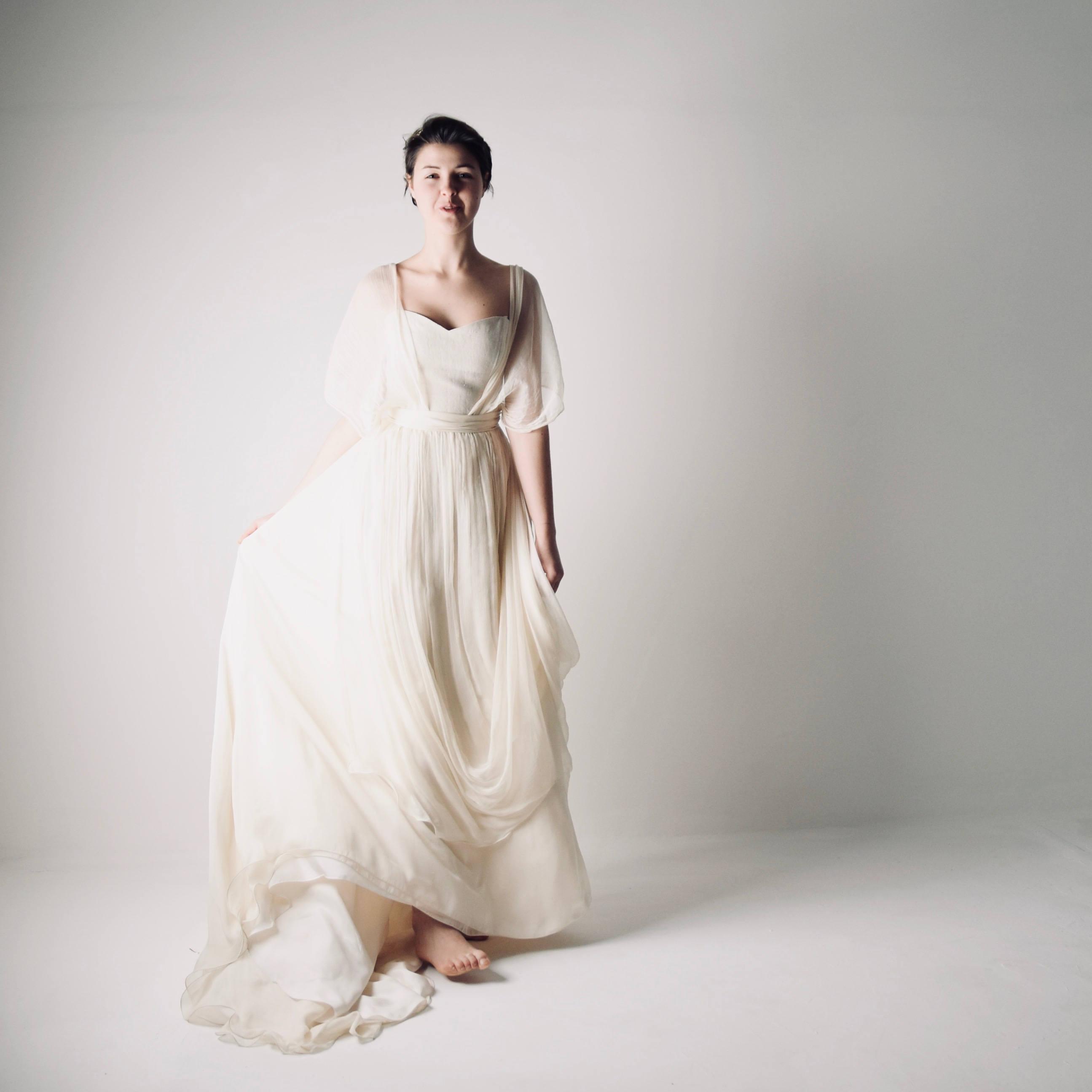 modest white wedding dresses photo - 1