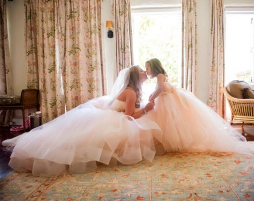 mommy and me wedding dresses photo - 1