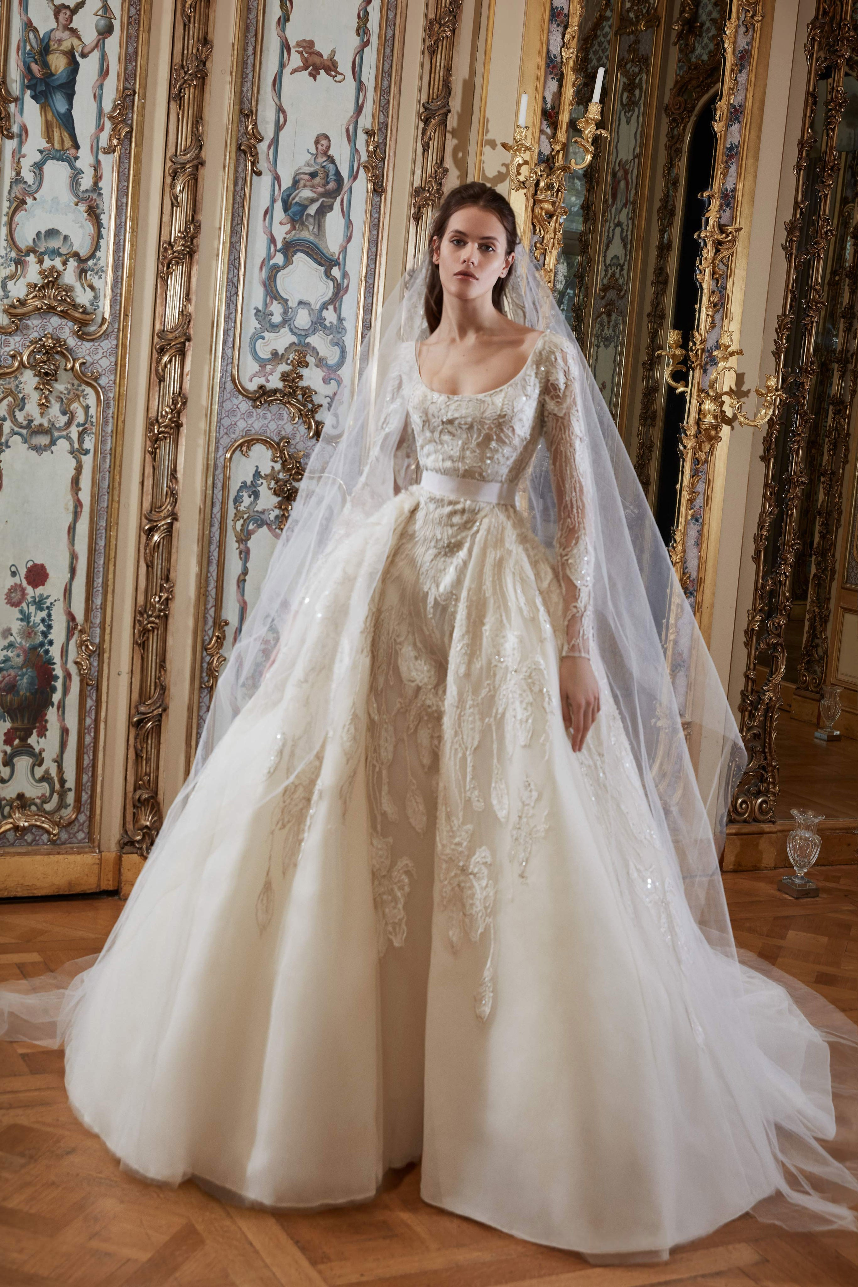 monique lhuillier wedding dresses photo - 1