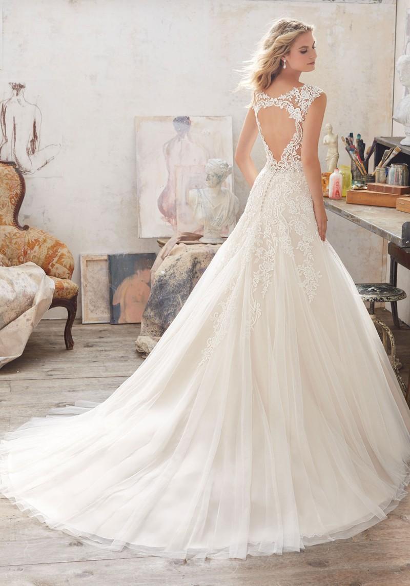 mori lee wedding dresses sale photo - 1