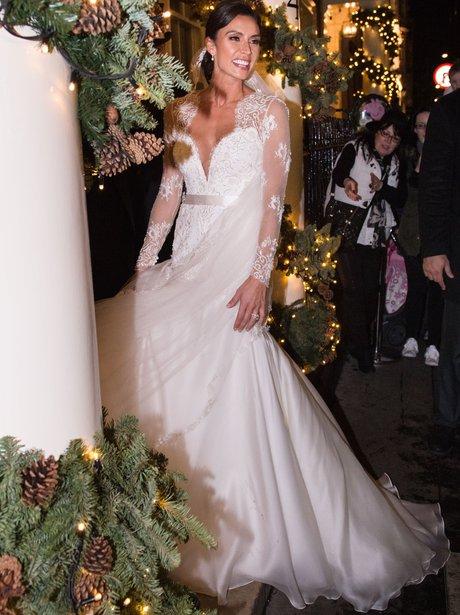 most beautiful celebrity wedding dresses photo - 1