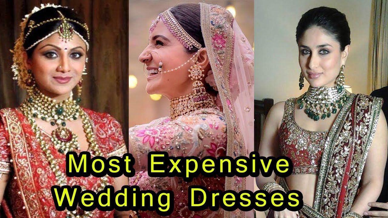 most expensive wedding dresses ever photo - 1