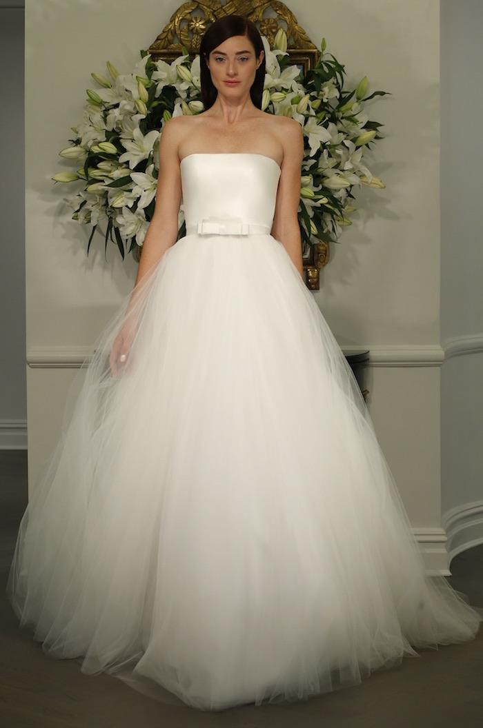 most flattering wedding dresses photo - 1