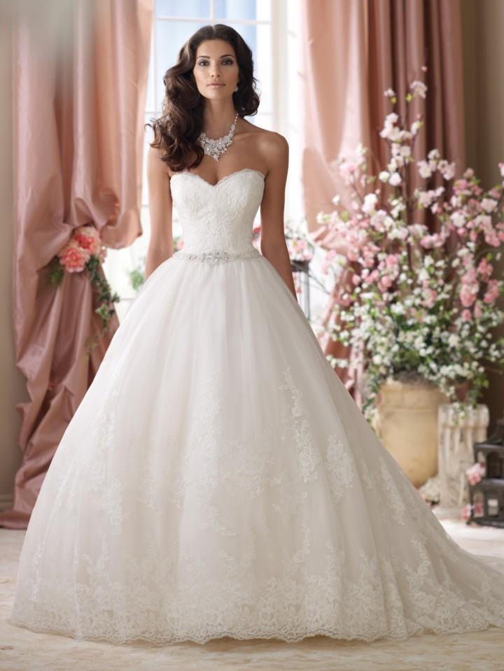 most gorgeous wedding dresses photo - 1