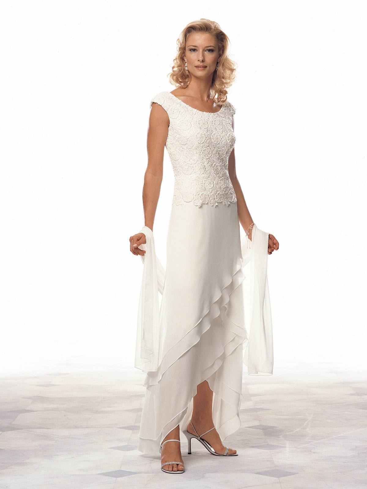 mother of the bride beach wedding dresses photo - 1