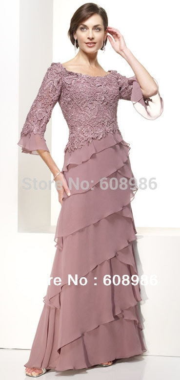 mother of the bride dresses for a country wedding photo - 1