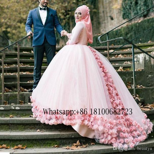 muslim wedding dresses pic photo - 1