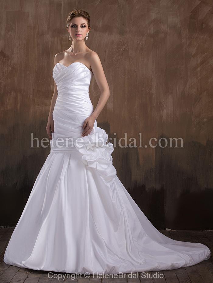 natural wedding dresses photo - 1