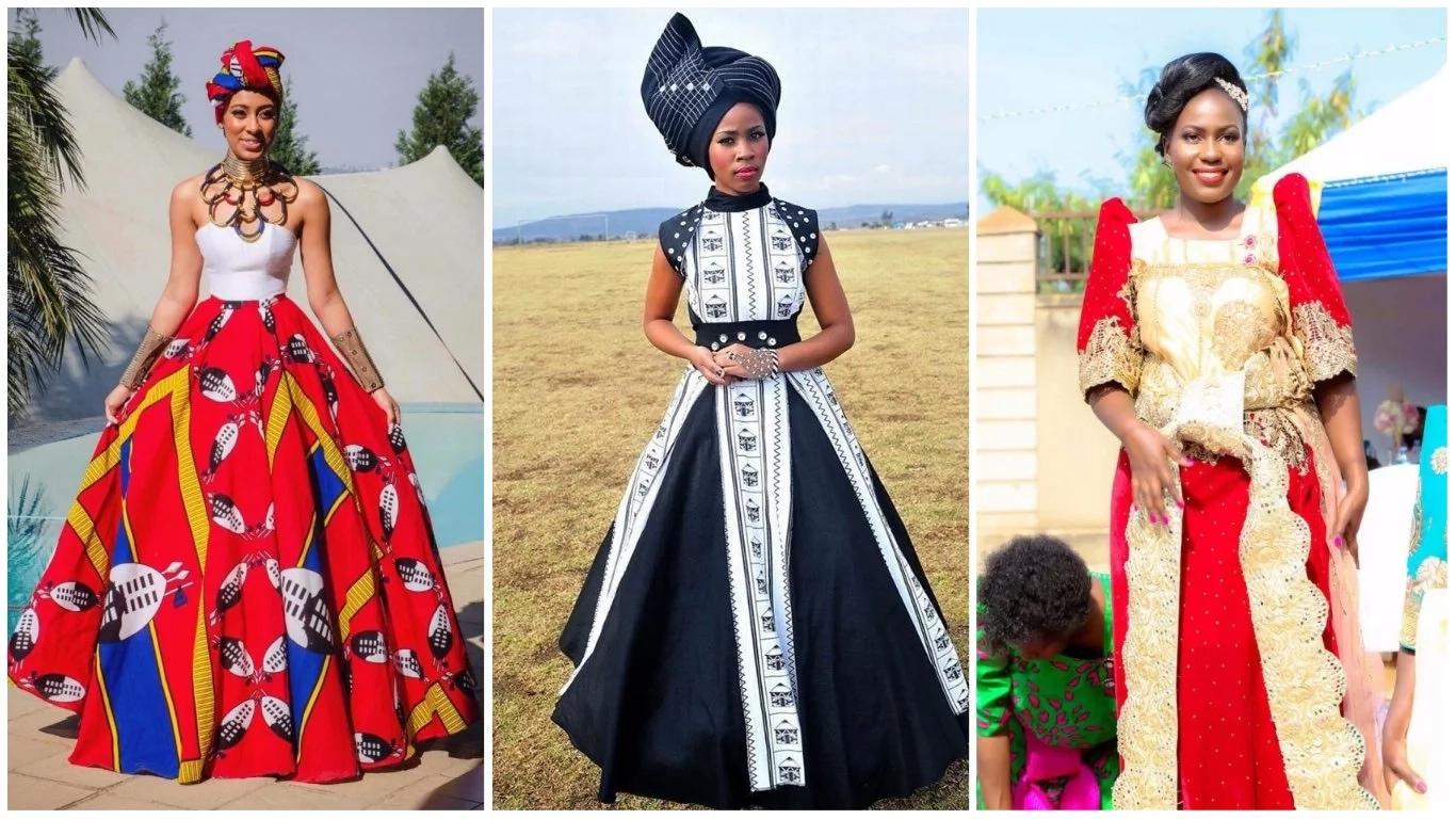 nigerian traditional wedding dresses photo - 1