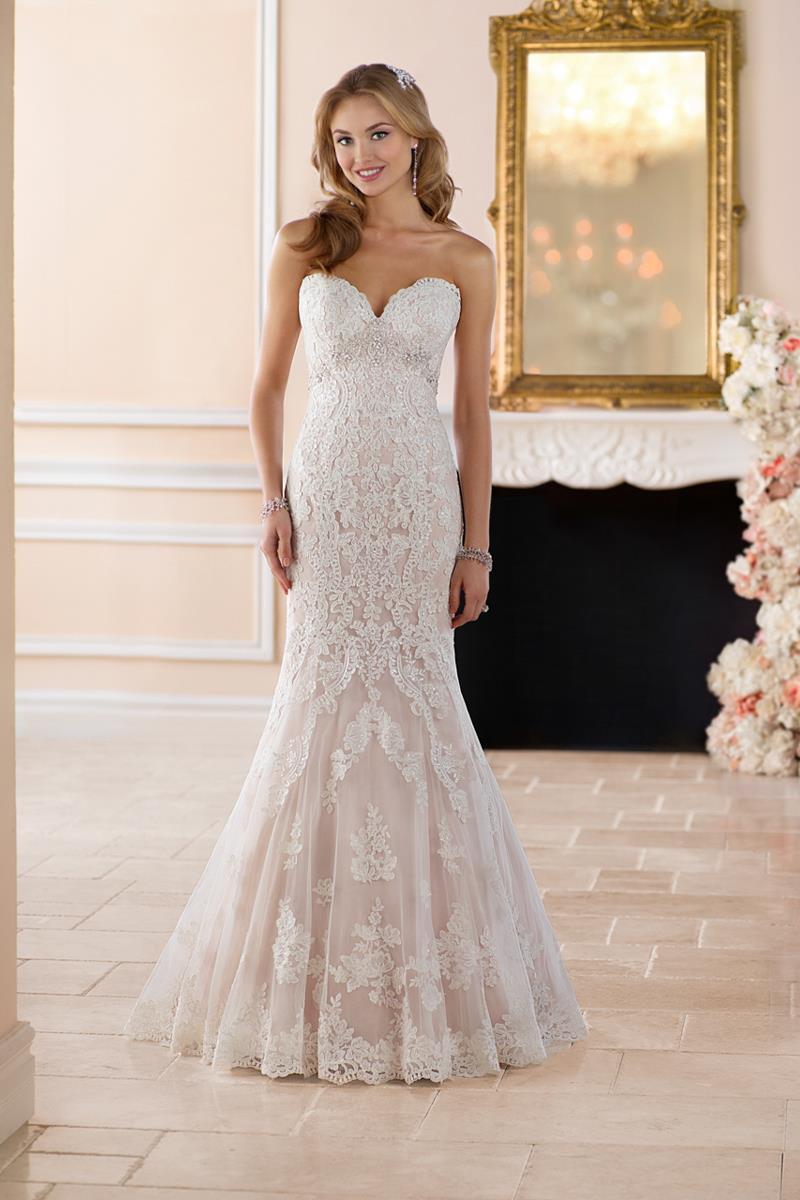 non strapless wedding dresses photo - 1