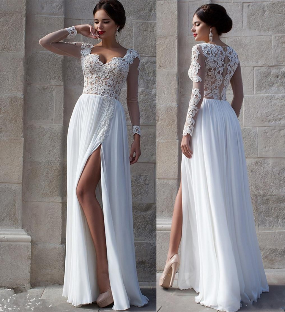 non traditional casual wedding dresses photo - 1