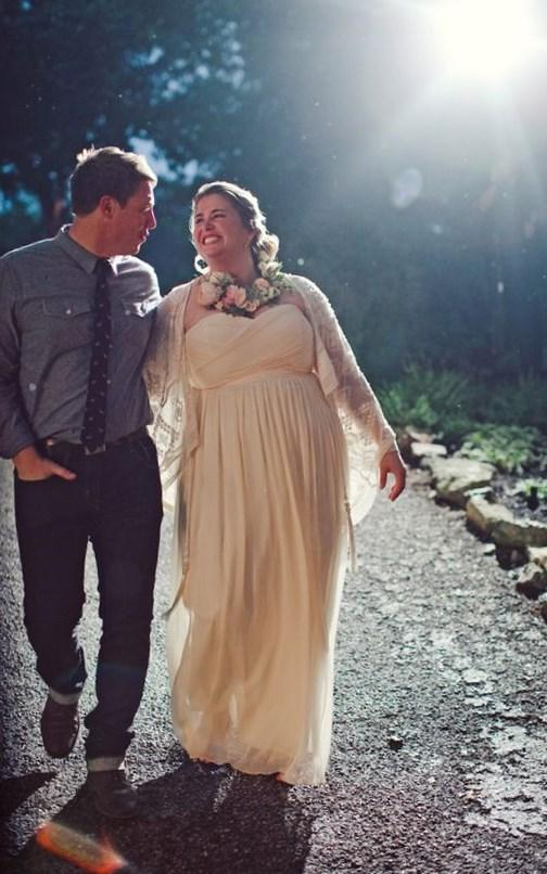 non traditional plus size wedding dresses photo - 1