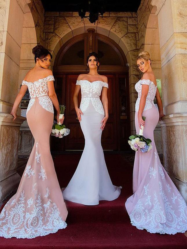 off white lace wedding dresses photo - 1