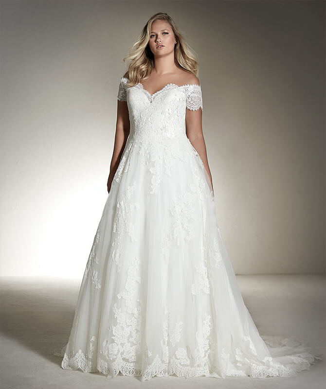 off white wedding dresses photo - 1