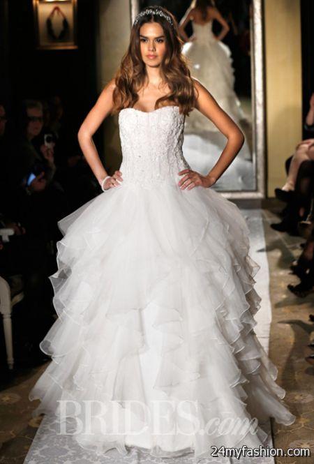 oleg cassini lace wedding dresses photo - 1
