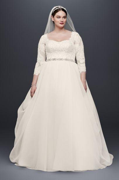 oleg cassini mermaid wedding dresses photo - 1