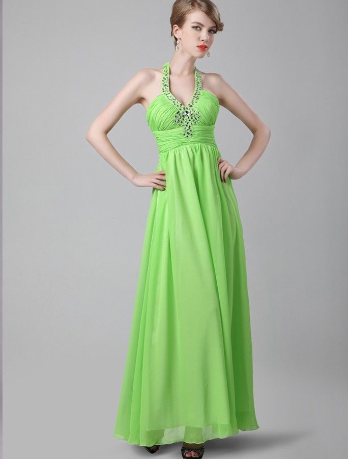 olive green evening dresses photo - 1