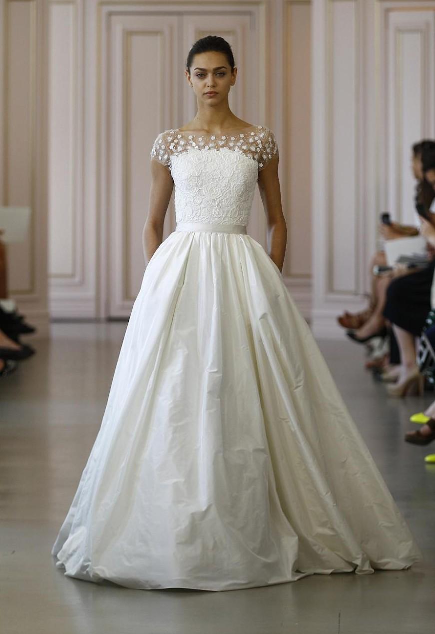 oscar de la renta wedding dresses photo - 1