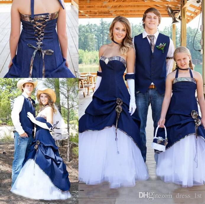 outdoor wedding bridesmaid dresses photo - 1