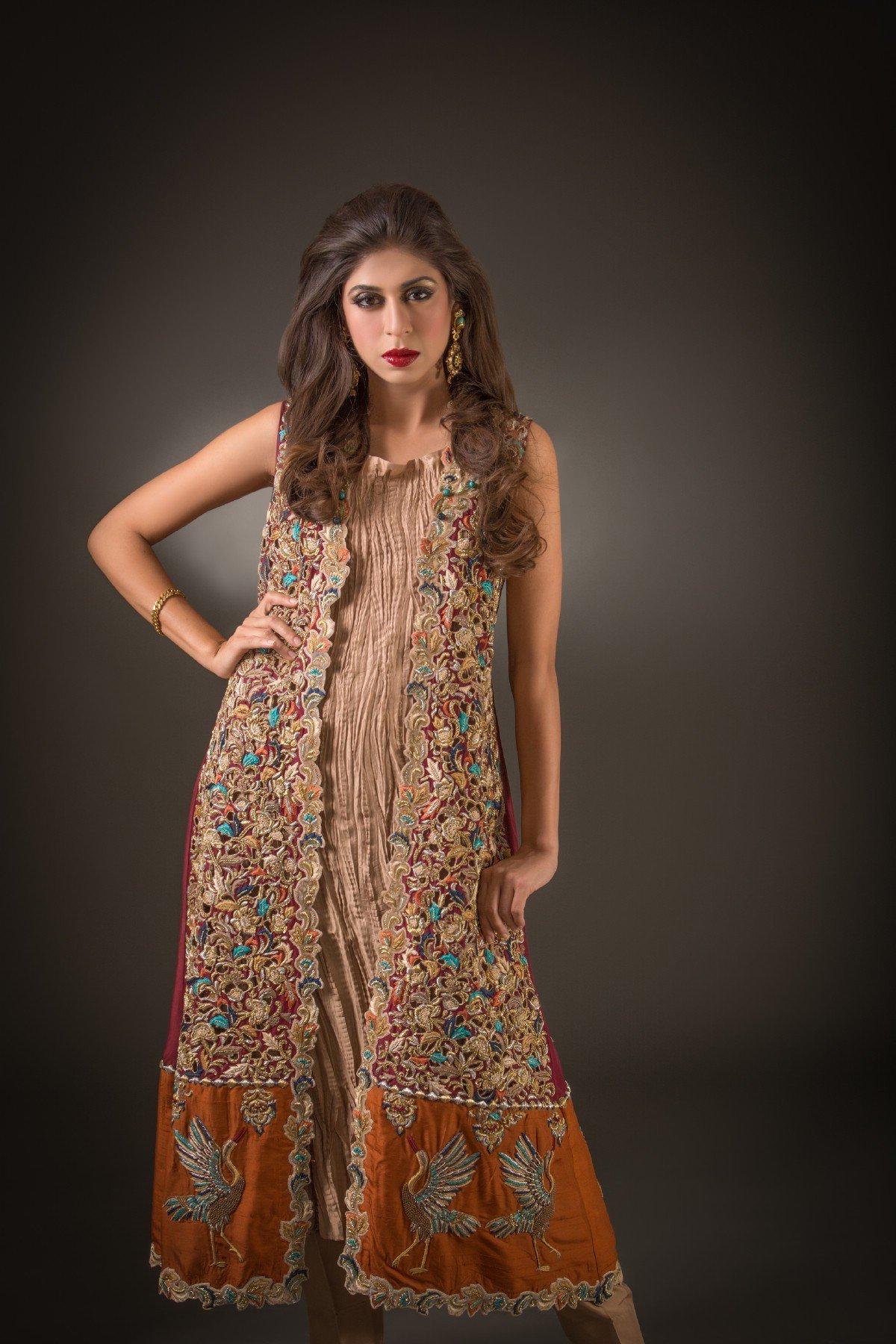pakistani designer wedding dresses photo - 1