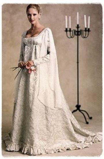 pattern for wedding dresses photo - 1