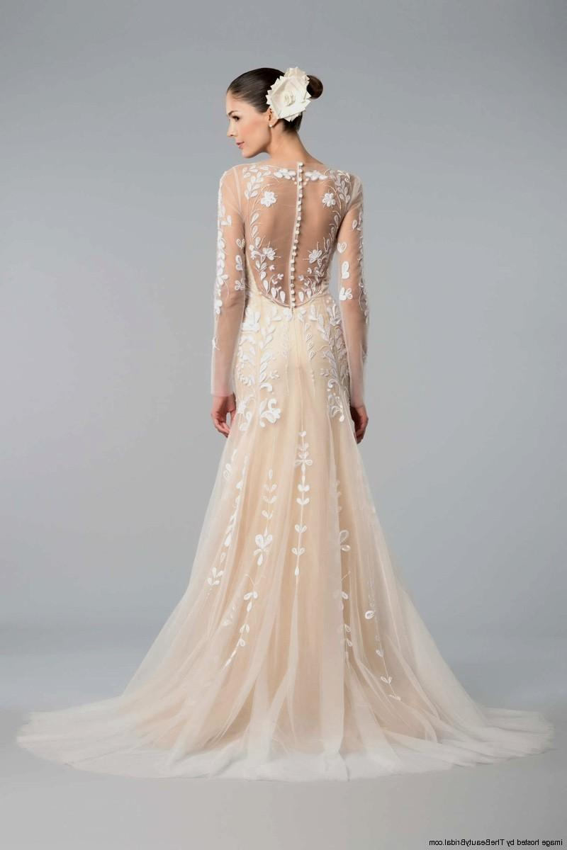 peach wedding dresses photo - 1