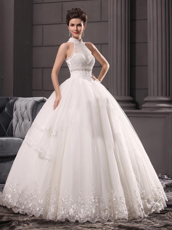 pearl wedding dresses photo - 1