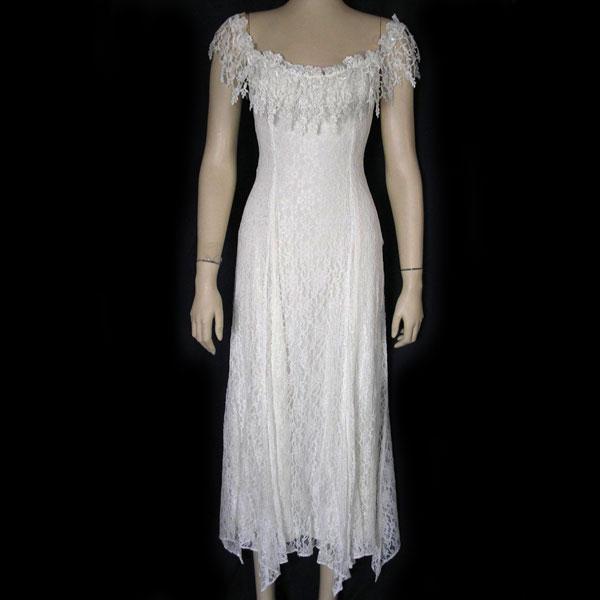 peasant style wedding dresses photo - 1