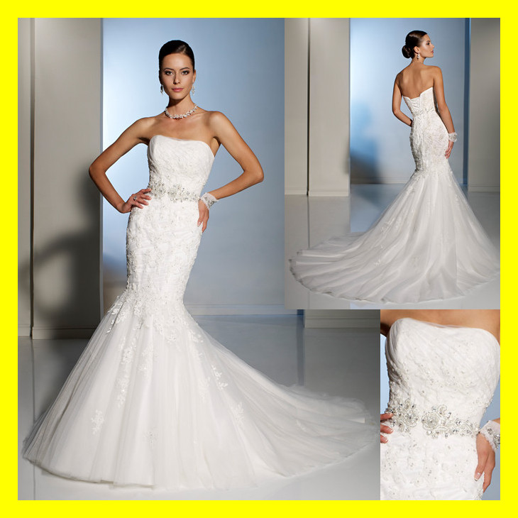 petite plus size wedding dresses photo - 1