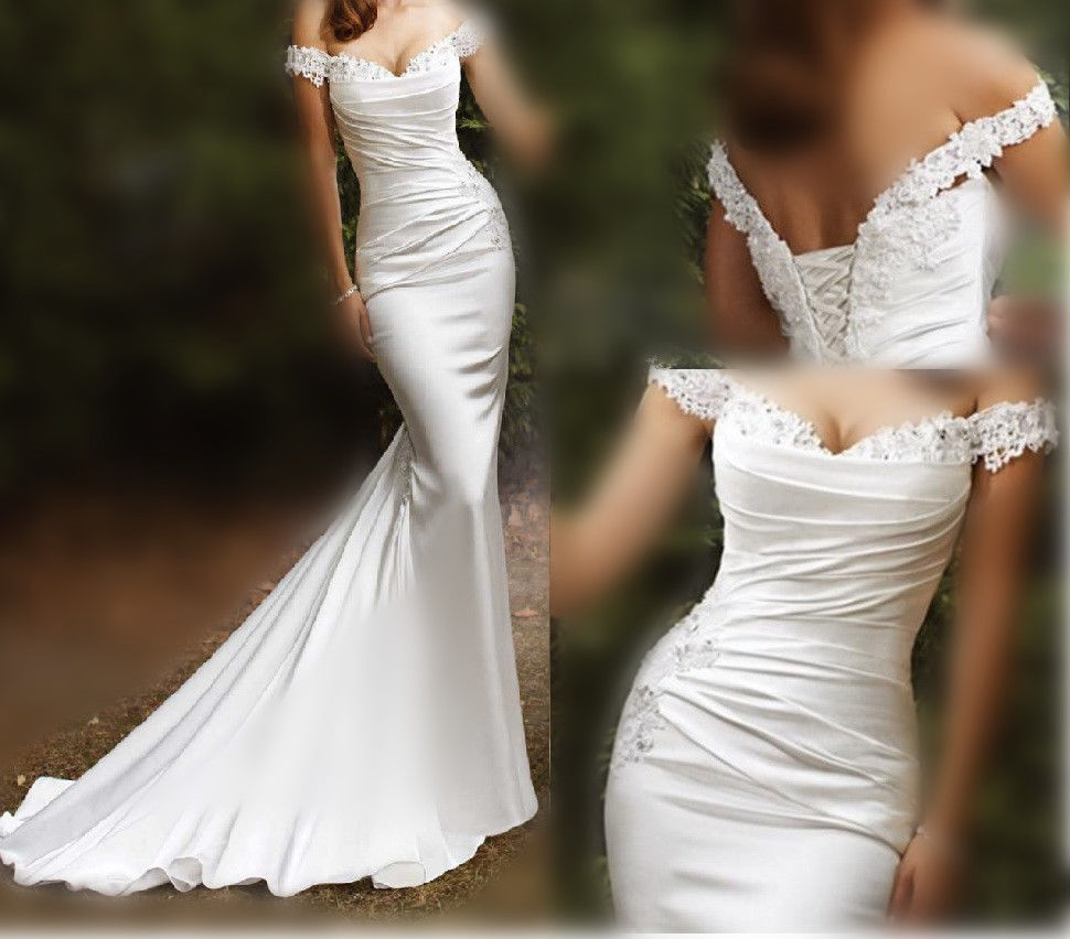 pictures of beach wedding dresses photo - 1