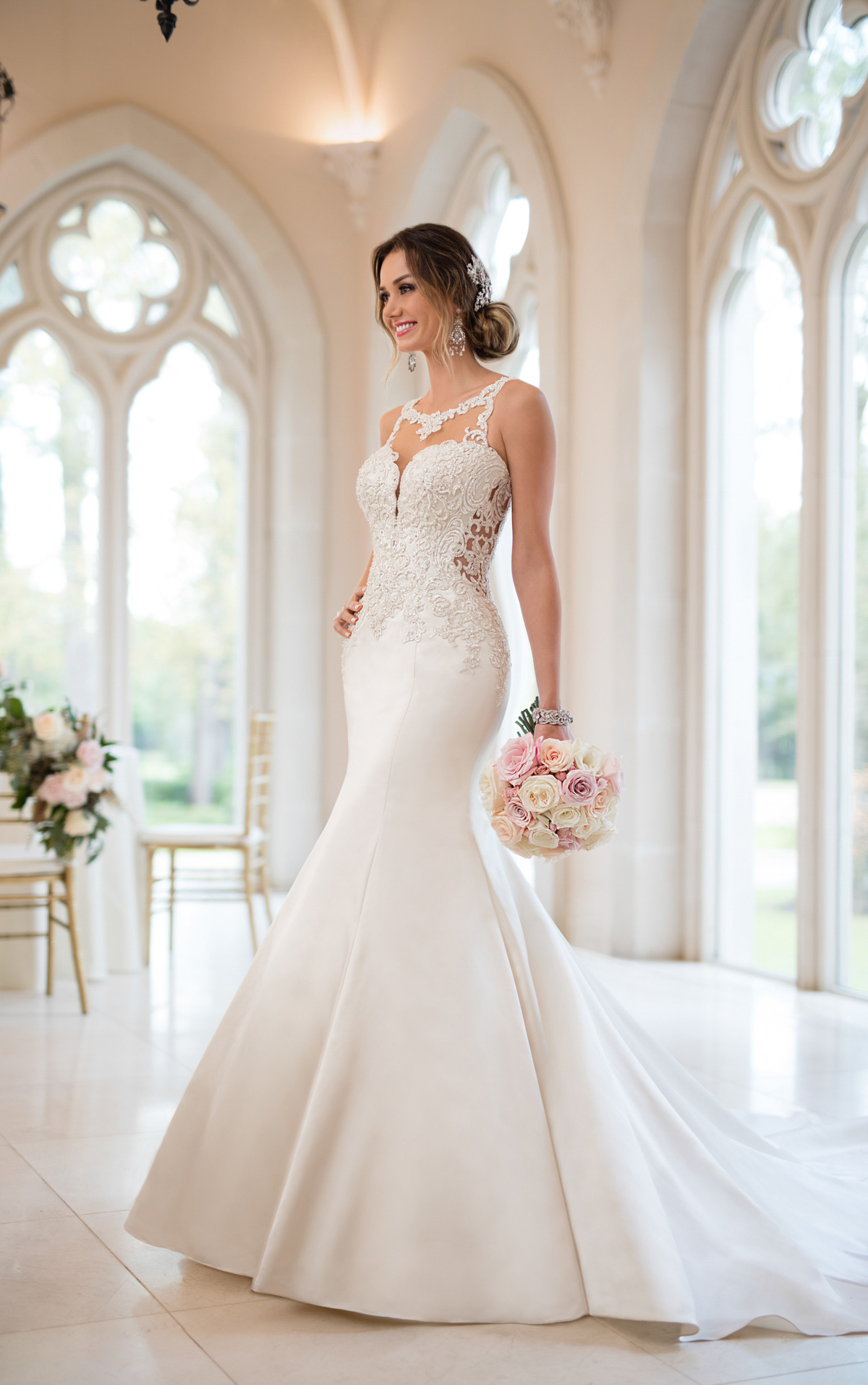 pictures of mermaid wedding dresses photo - 1