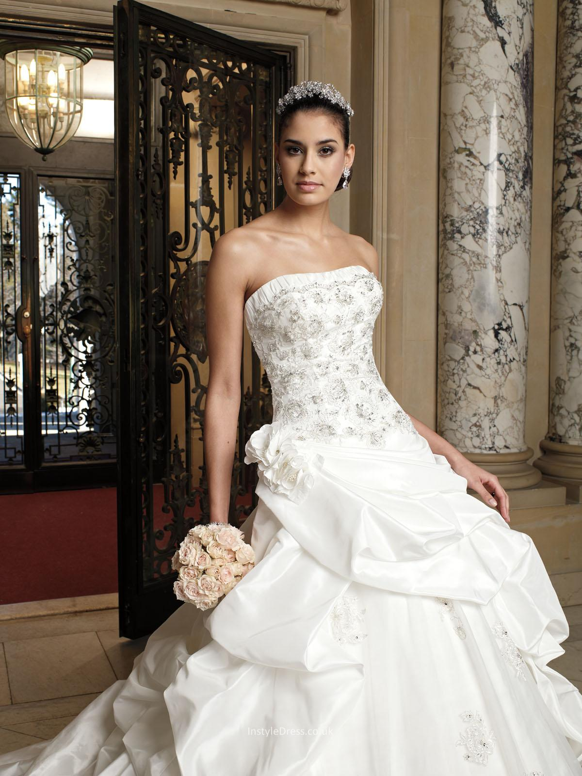 pictures of wedding dresses with sleeves photo - 1