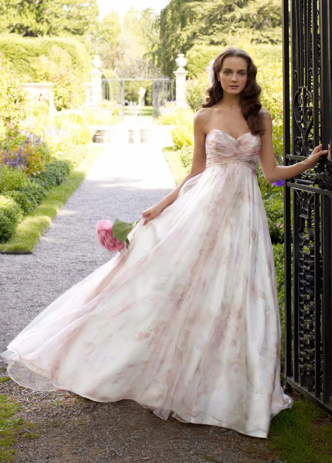 pink wedding dresses davids bridal photo - 1