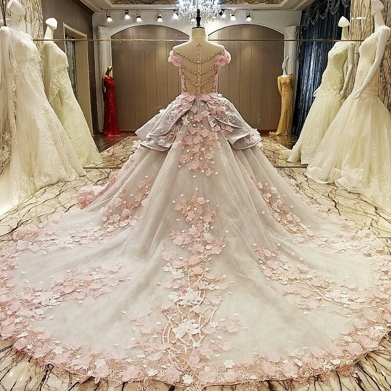 pink wedding dresses for sale photo - 1