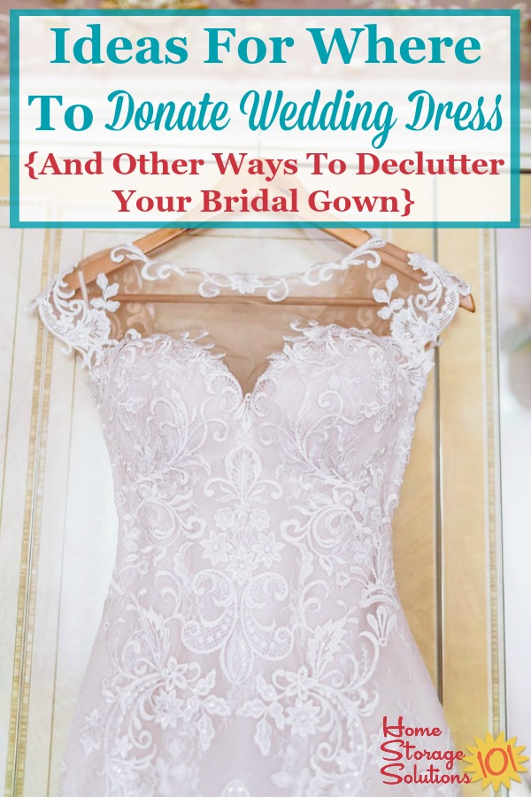 places to donate wedding dresses photo - 1