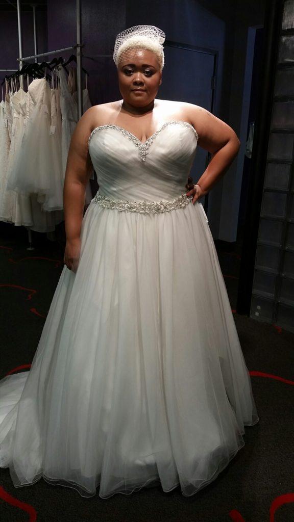 platinum wedding dresses photo - 1