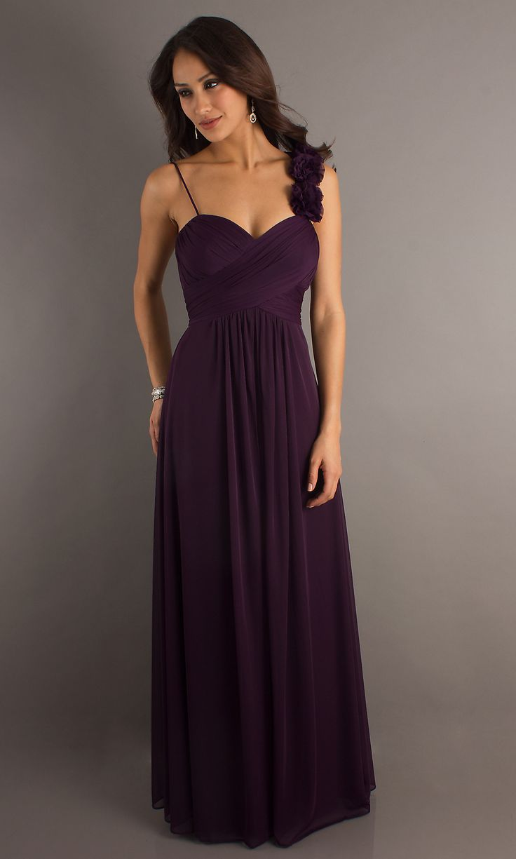 plum wedding dresses photo - 1