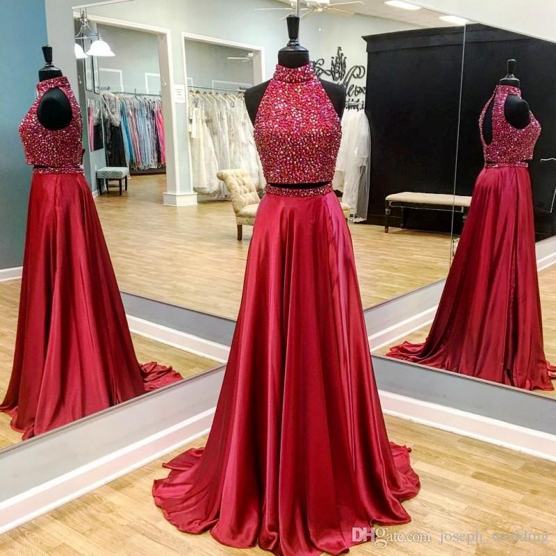 plus size 2 piece wedding dresses photo - 1