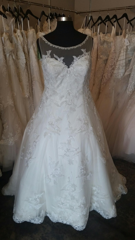 plus size aline wedding dresses photo - 1