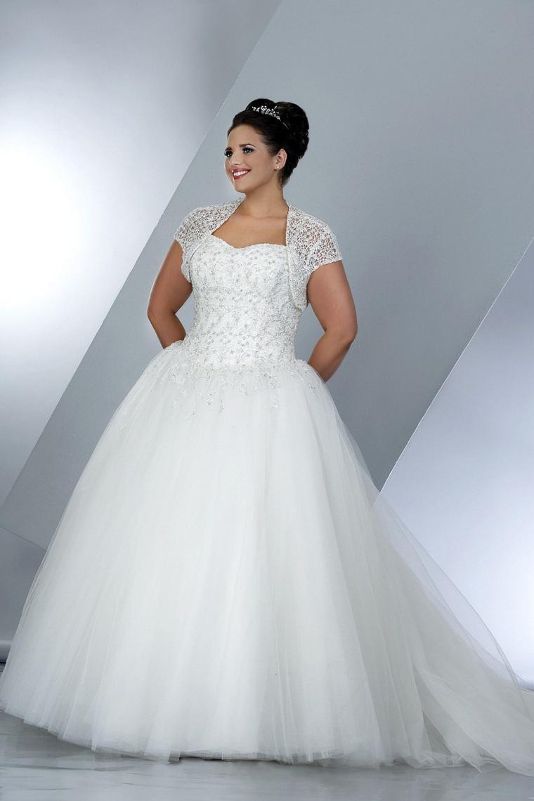 plus size ball gown wedding dresses photo - 1