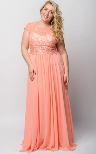 plus size beach wedding dresses photo - 1